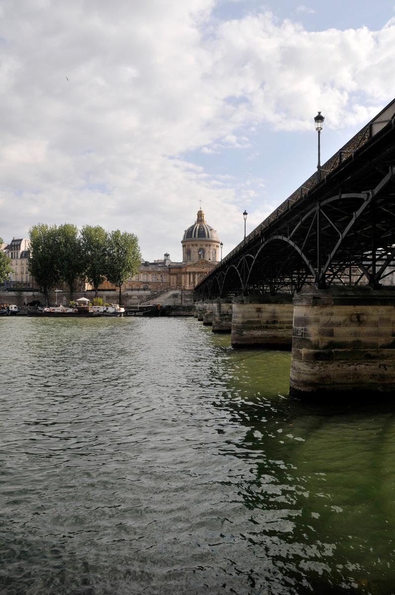 Paris, passerelle du Pont des Arts