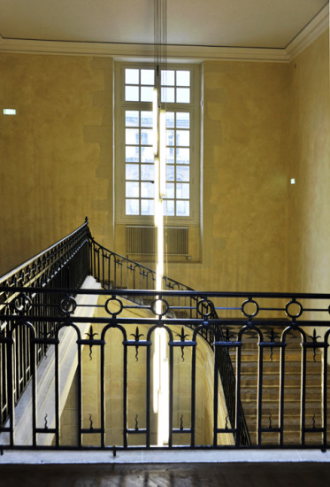 Musée des Beaux Arts de Dijon-escalier d'honneur