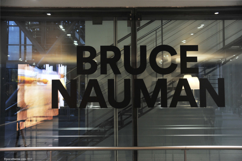 Bruce-Nauman-Fondation-Cartier1-827x550 Reportages photo Expositions, Concerts, Opéra, Festivals...