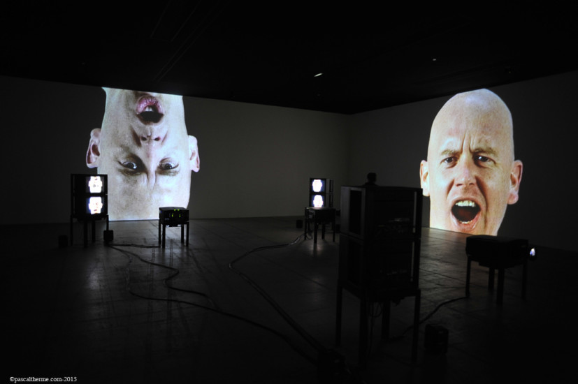 Bruce-Nauman-Fondation-Cartier23-827x550 Reportages photo Expositions, Concerts, Opéra, Festivals...