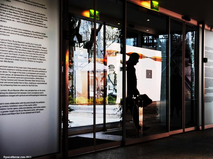 Bruce-Nauman-Fondation-Cartier91-736x550 Reportages photo Expositions, Concerts, Opéra, Festivals...