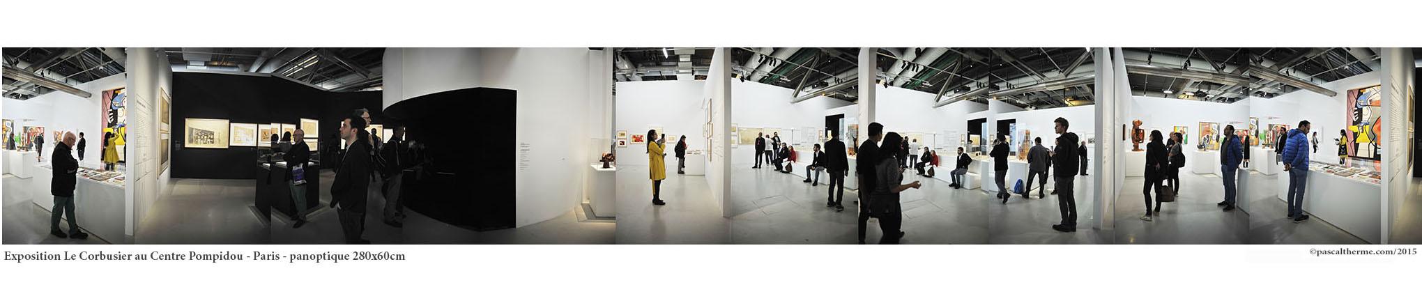 exposition LeCorbusier, Centre Pompidou, Série des Musées et expositions-©PascalTherme2015