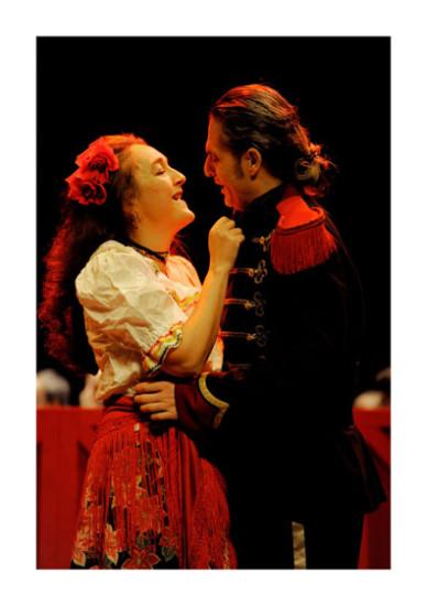 Carmen de Bizet mis en scène par Serge Gasteau