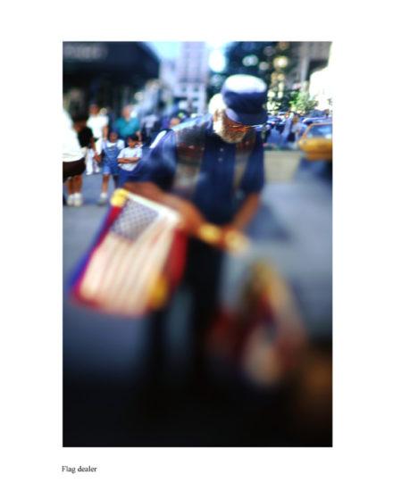 New-York Memories-Flag dealer near Central Station