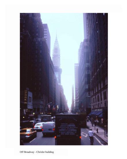 ny-memories-Off Broadway-Chrisler Building