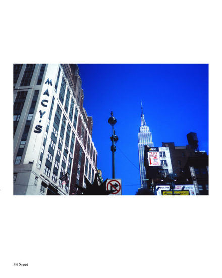 ny-memories-Macy's corner on 34 street