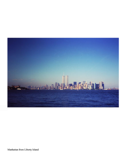 ny-memories-Manhattan from liberty Island