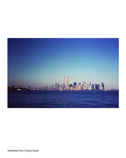 ny-memories-Manhattan from liberty Island