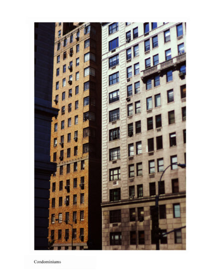 New-York Memories-Downtown Manhattan- Condominiums