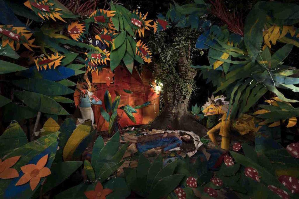 """Jungle-dormeuse-1024x683 « Cabanes imaginaires autour du monde """" Nicolas Henry ART"""