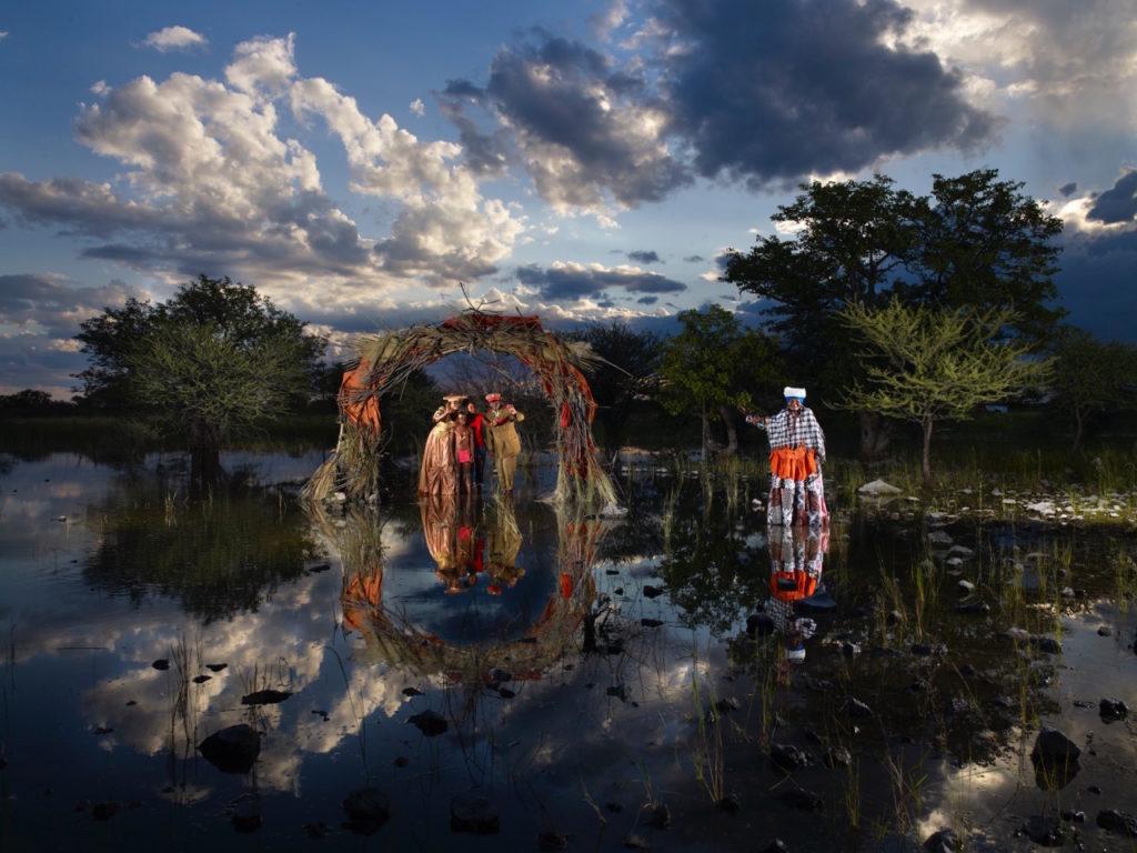 """hereros-reflets-4836-copie-1024x768 « Cabanes imaginaires autour du monde """" Nicolas Henry ART"""