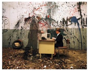 """02-secretariat-350x280 ESTELLE LAGARDE « Maison d'arrêt » et « Lundi matin » sous le titre """"Libertés Conditionnelles"""" mois de la photo du Grand Paris. ART"""