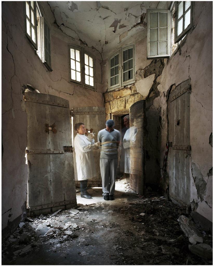 """UHSA-824x1024 ESTELLE LAGARDE « Maison d'arrêt » et « Lundi matin » sous le titre """"Libertés Conditionnelles"""" mois de la photo du Grand Paris. ART"""