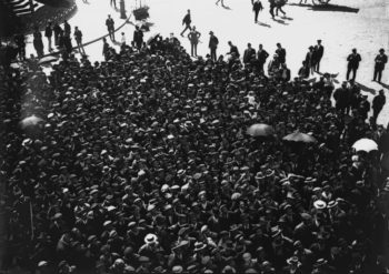 Joshua-Benoliel-Grève-des-électriciens-Lisbonne-1912-350x247 MERIGNAC PHOTOGRAPHIC FESTIVAL ART