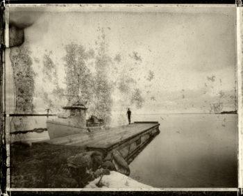 Thomas Zamolo - lost shadow - The boat 100x80-©Thomas Zamolo