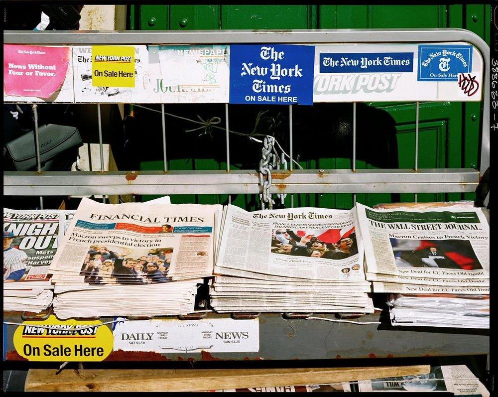 New-York-©Raymond-Depardon-journaux New York et le zen magistral de Raymond Depardon. ART