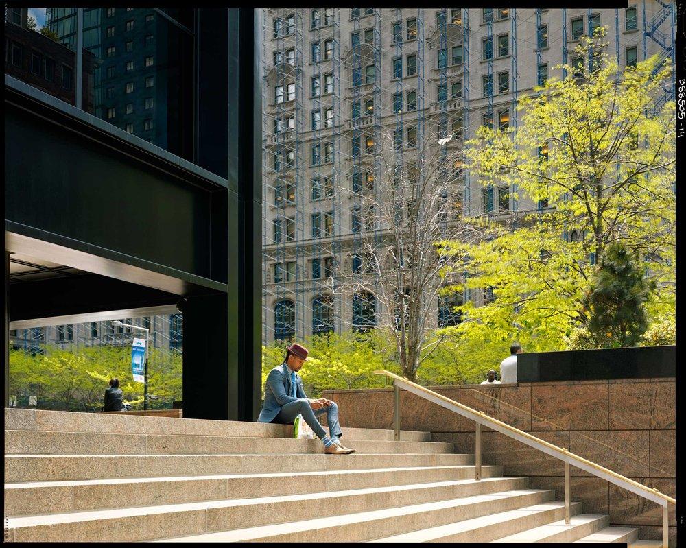 wall-street-c-raymond-depardon New York et le zen magistral de Raymond Depardon. ART