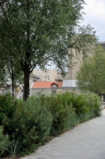 Parc_Clichy_BatignollesMartin_Lutherking-7365-366x550 Reportage Photo Paris : Architecture