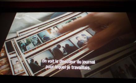 Photogramme du film Focus Iran de Nathalie Masduraud et Valérie Urréa.... photo©pascaltherme2018
