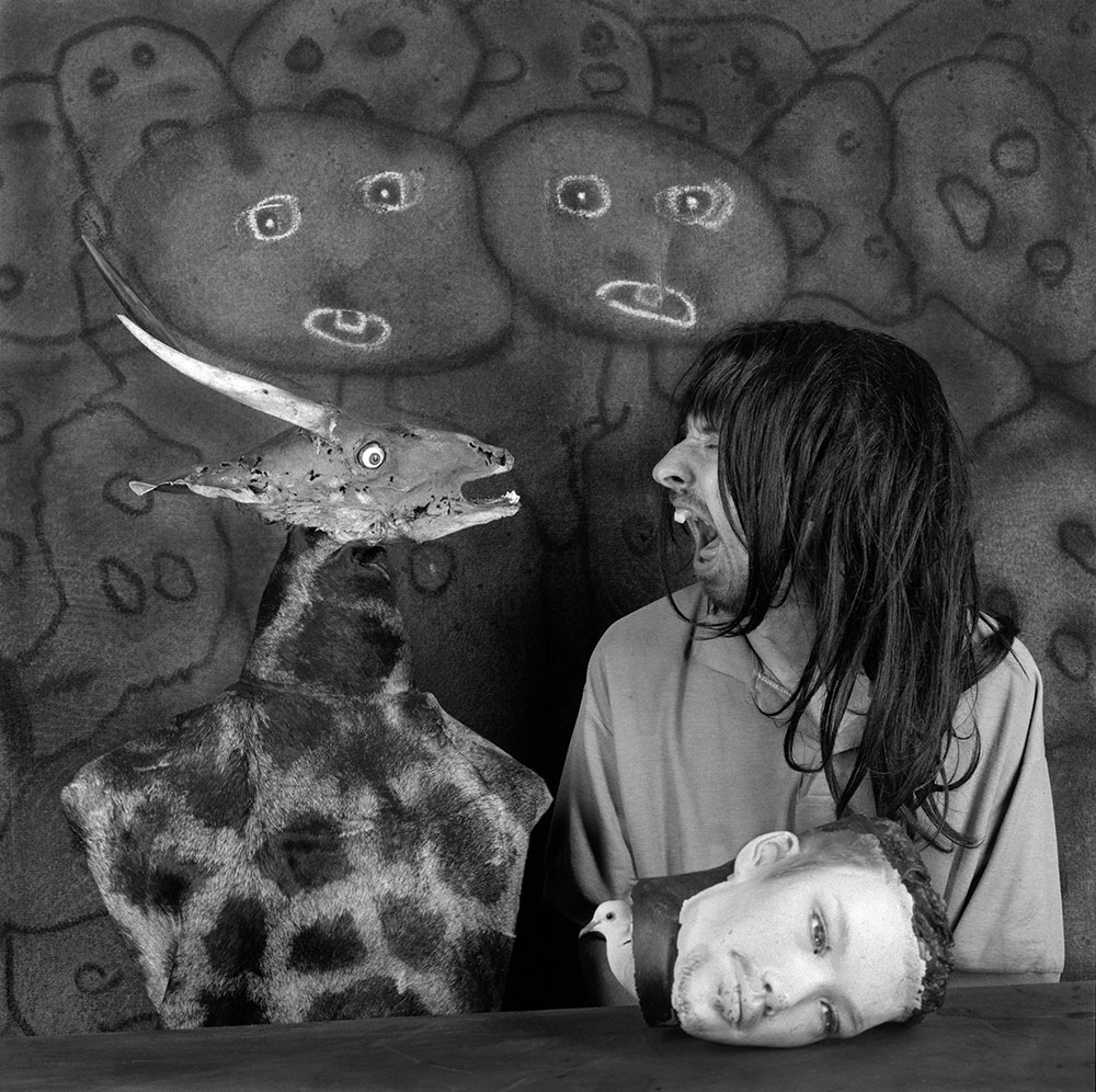Altercation-2012 ROGER BALLEN CHEZ SAINT-PIERRE...interview... ART PHOTOGRAPHIE