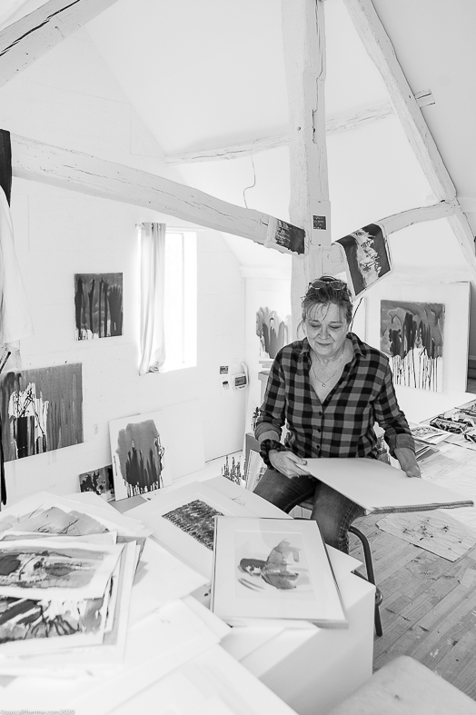 Catherine Rey, atelier